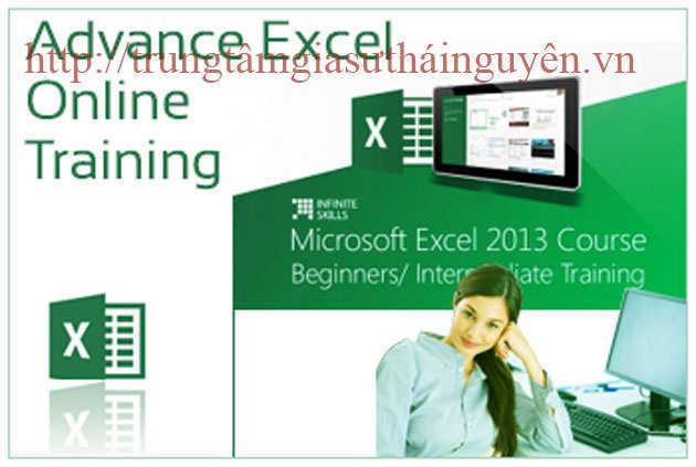 Dạy Excel tại Bắc Giang-Lớp học Excel ở Bắc Giang