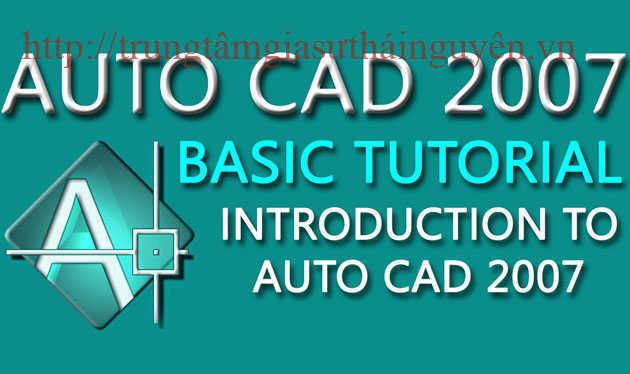 Khóa học Autocad cấp tốc giá rẻ tại thái nguyên