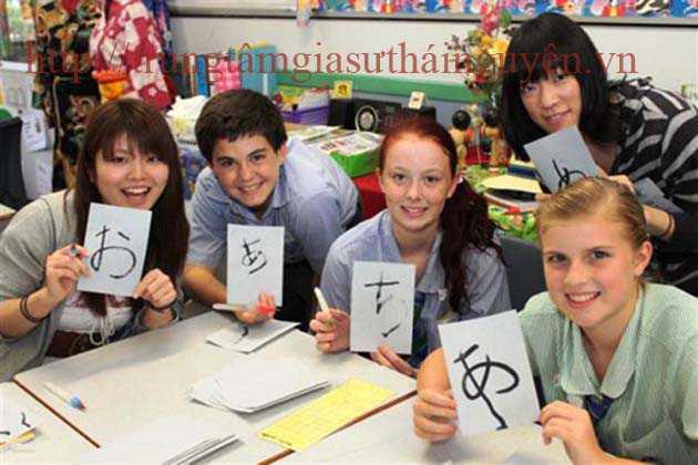 Gia sư dạy tiếng Nhật Bản tại thái nguyên