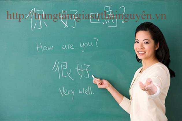 Gia sư dạy tiếng Trung Quốc Tại Thái Nguyên