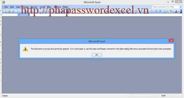Cách sửa lỗi file excel không mở lên được hiệu quả nhất