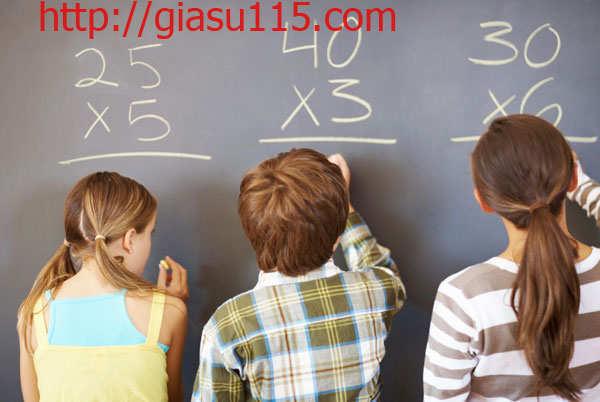 Lớp học toán cho HS yếu kém tại thái nguyên