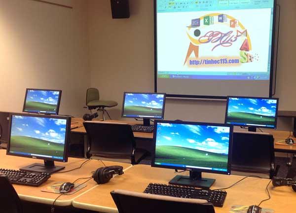 Lớp tin học văn phòng cho học viên tại Việt Trì Phú THọ