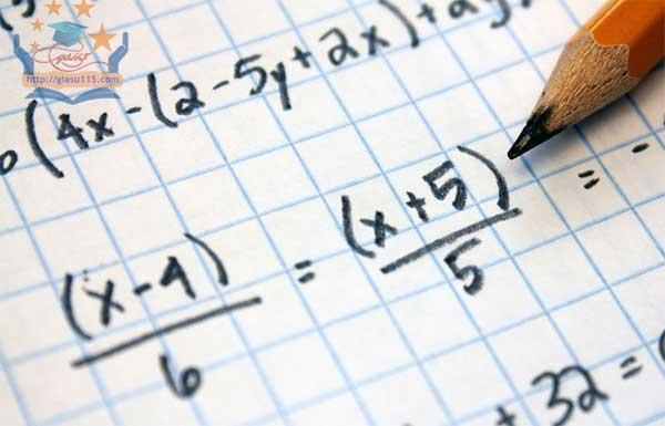Gia sư dạy kèm môn toán tại nhà ở thái nguyên