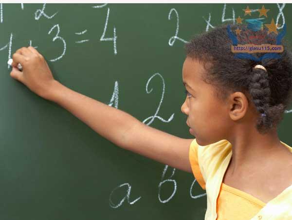 Gia sư toán tiểu học tại thái nguyên
